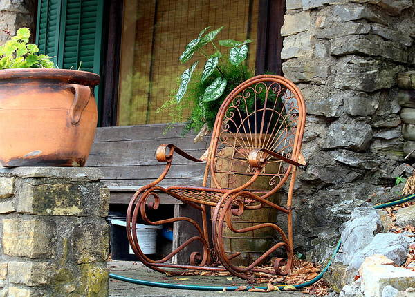 Photograph - The Empty Chair by Sheila Brown