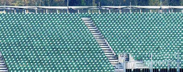 Photograph - The Empty Grandstand by Colin Rayner