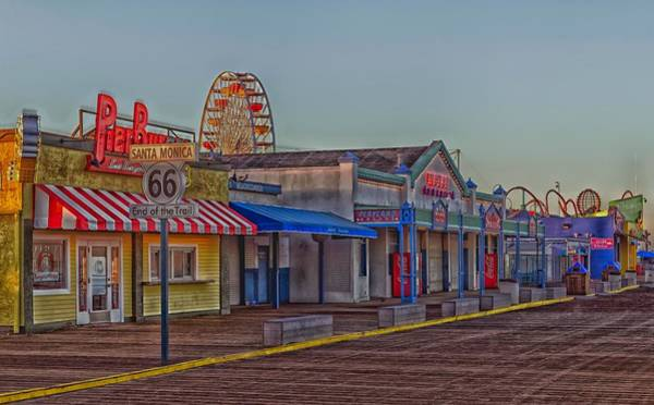 Pier 66 Photograph - The End Of Route 66 by Vladimir Kudinov