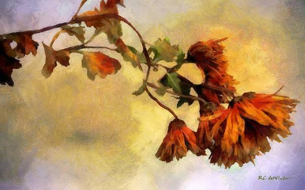 Painting - The End Of The Season by RC DeWinter