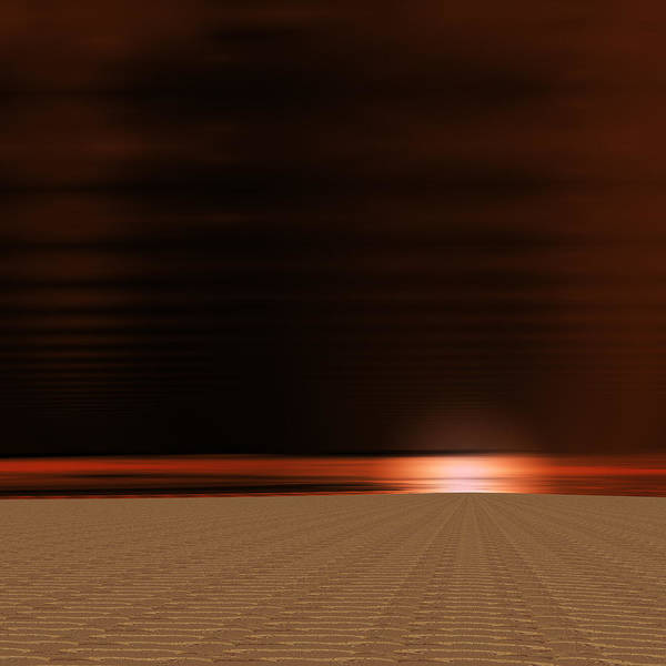Detonation Digital Art - The End by Vic Eberly
