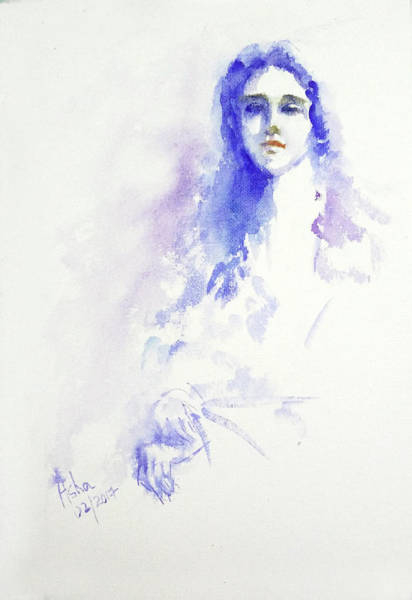 Painting - The Endless Wait by Asha Sudhaker Shenoy