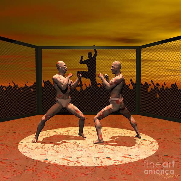 Digital Art - Blood Sport by Walter Neal