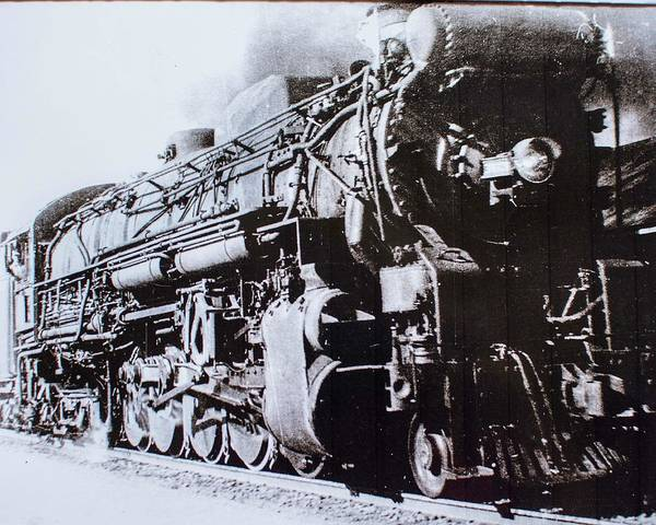 Photograph - The Engine  by Jeanne May
