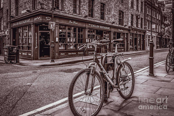 Photograph - The English Restaurant, London. by Nigel Dudson