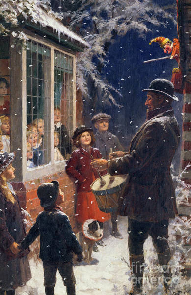 Entertainer Painting - The Entertainer  by Percy Tarrant