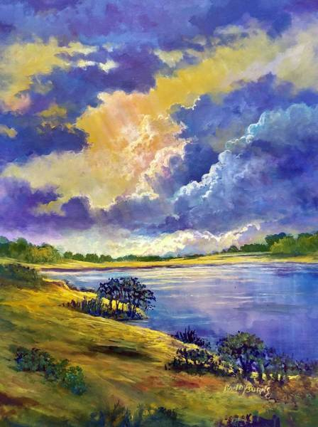 Painting - The Ephemeral Sky by Randy Burns