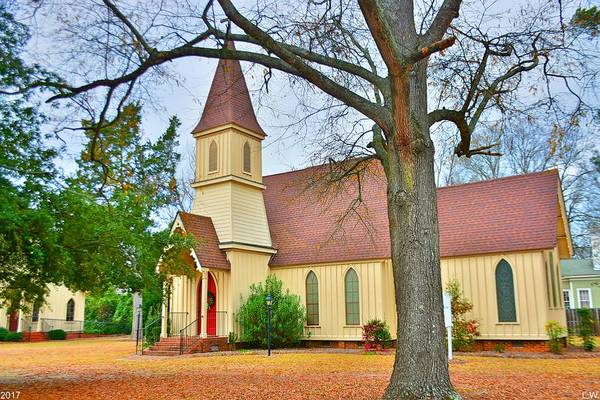 Photograph - The Episcopal Church Of The Ridge-grace Episcopal Church by Lisa Wooten