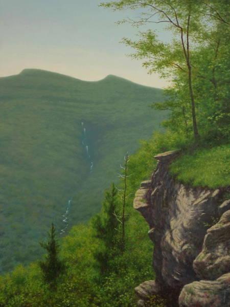 Wall Art - Painting - The Escarpment by Barry DeBaun
