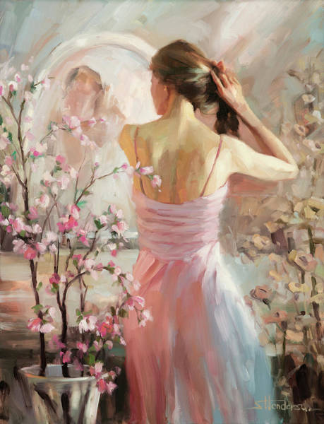 Background Painting - The Evening Ahead by Steve Henderson