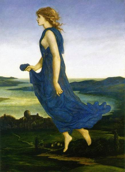 Painting - The Evening Star by Edward Burne-Jones