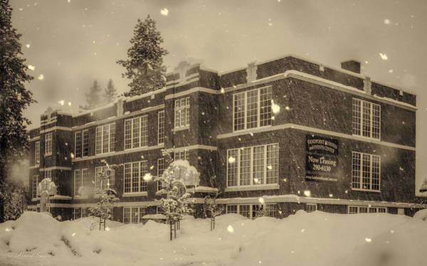 Photograph - The Sandpoint Event Center by Albert Seger