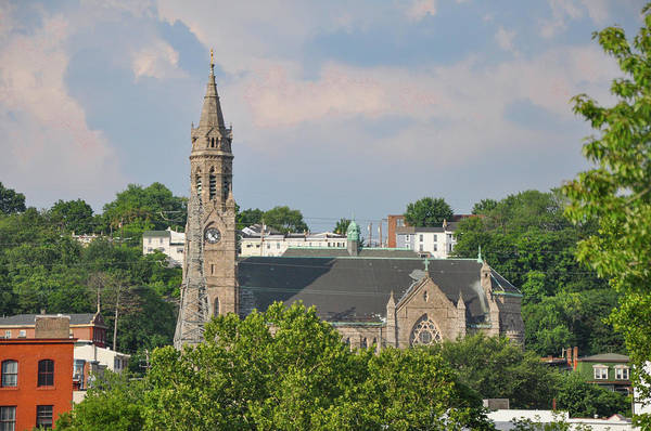 Wall Art - Photograph - The Ever Present St John The Baptist Manayunk by Bill Cannon