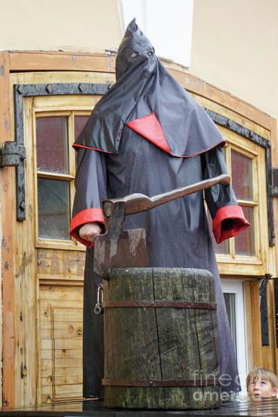 Axeman Wall Art - Photograph - The Executioner by Vladi Alon