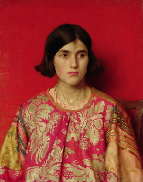 Gloomy Painting - The Exile - Heavy Is The Price I Paid For Love by Thomas Cooper Gotch