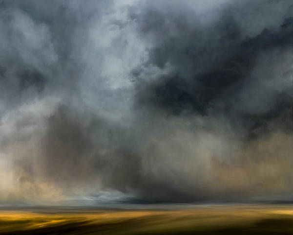 Cloud Mixed Media - The Expanse by Lonnie Christopher