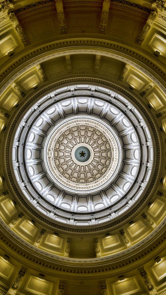 Texas Capitol Photograph - The Eye Of Texas Is Upon You by Stephen Stookey