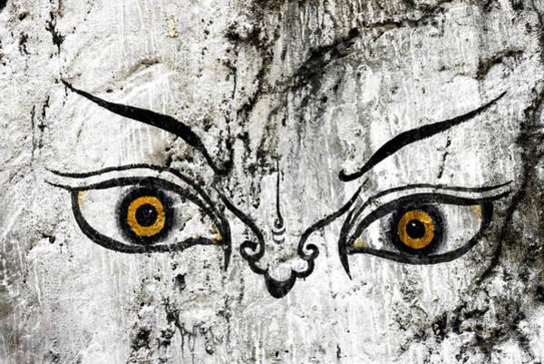 Photograph - The Eyes Of Guru Rimpoche  by Fabrizio Troiani