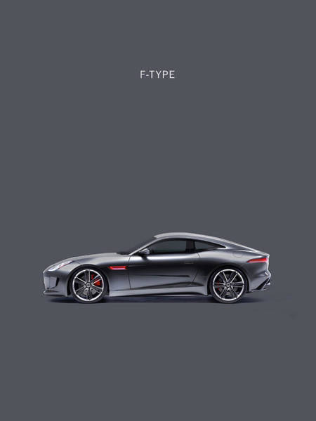 Wall Art - Photograph - The F Type by Mark Rogan