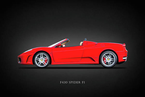 Wall Art - Photograph - The F430 by Mark Rogan