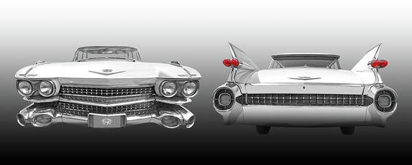Photograph - The Fabulous '59 Cadillac by Gill Billington