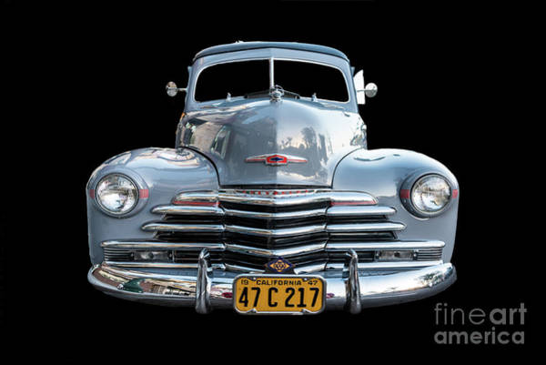 Photograph - The Face Of A Classic Chevy Woodie by David Levin