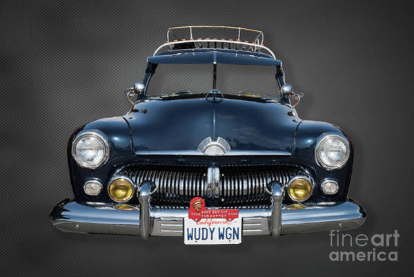 Photograph - The Face Of A Classic Mercury Woodie by David Levin
