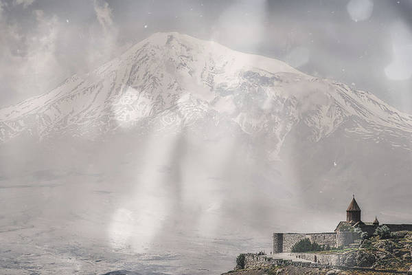 Wall Art - Photograph - The Face Of The Mountain  by Rabiri Us