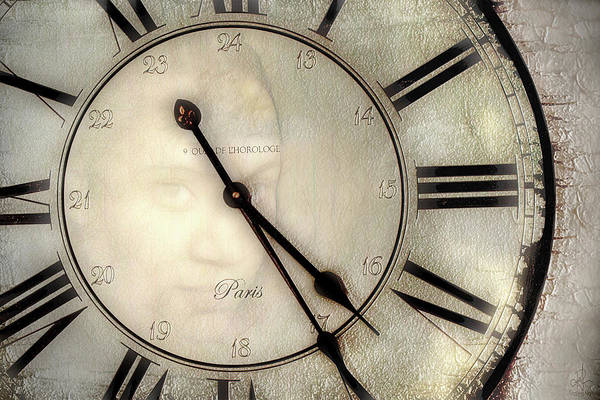 Digital Art - The Face Of Time by Pennie McCracken