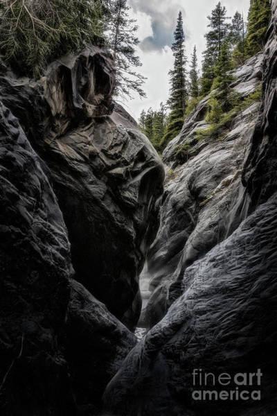 Photograph - The Faces Of Jura Creek Canyon by Brad Allen Fine Art