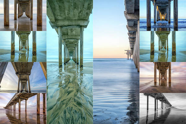 Scripps Pier Photograph - The Faces Of Scripps Pier #2 by Joseph S Giacalone