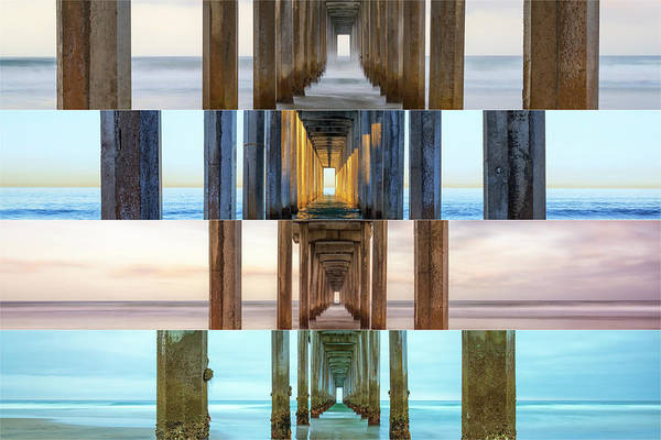 Scripps Pier Photograph - The Faces Of Scripps Pier #3 by Joseph S Giacalone