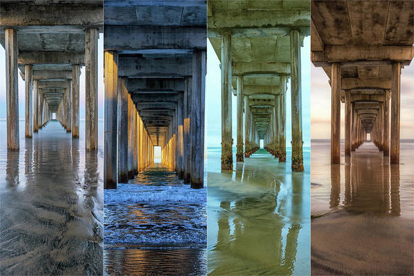 Scripps Pier Photograph - The Faces Of Scripps Pier #4 by Joseph S Giacalone