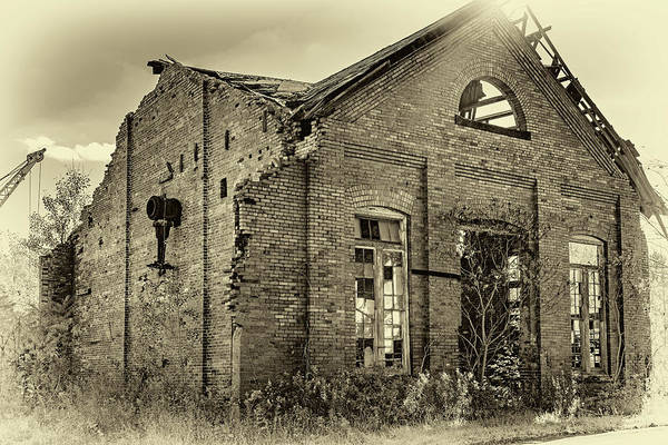 Wall Art - Photograph - The Factory 2 Sepia by Steve Harrington