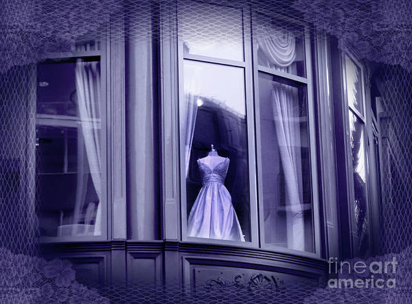 Dress Shop Photograph - The Fading Scent Of Lavender by Laura Iverson