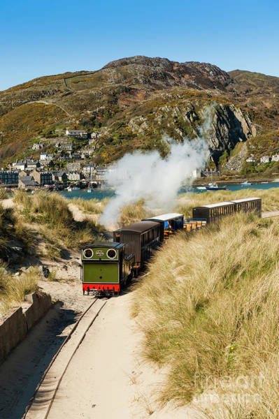 Photograph - The Fairbourne Miniature Steam Railway, Gwynedd, North Wales Uk by Keith Morris