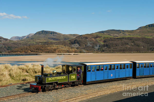 Photograph - The Fairbourne Miniature Steam Railway, Wales Uk by Keith Morris