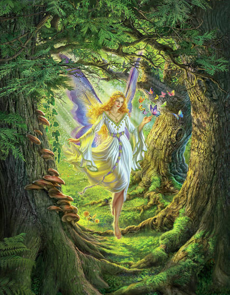 Insect Digital Art - The Fairy Queen by Mark Fredrickson