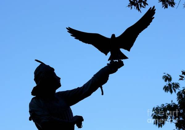 Wall Art - Photograph - The Falconer Statue by Gregory E Dean