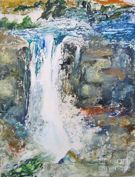 Painting - The Falls by John Nussbaum