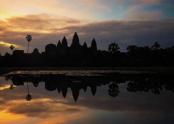 Photograph - The Famous Angkor Wat At Sunrise by Matt Shiffler
