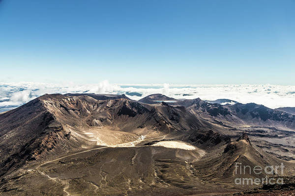 Photograph - The Famous Tongariro Alpine Crossing In New Zealand by Didier Marti