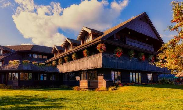 Wall Art - Photograph - The Famous Trapp Family Lodge by Mountain Dreams