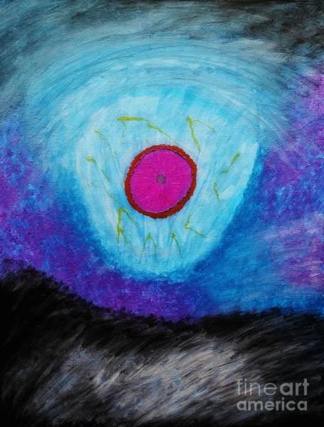 Painting - The Fanospherelian by Rachel Hannah
