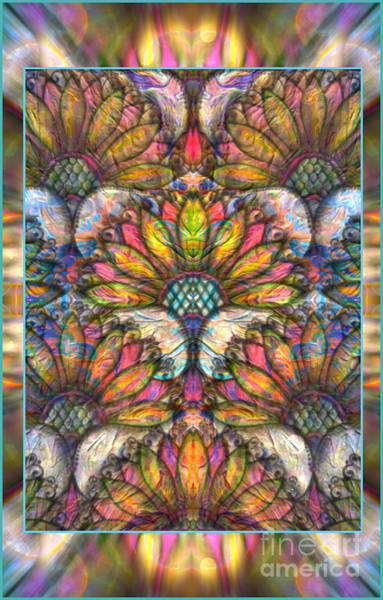 Mixed Media - The Fans Of Spring by Wbk