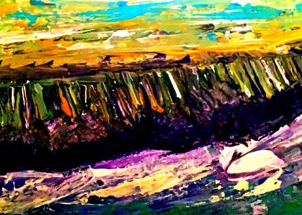Painting - The Far Shore by Nikki Dalton