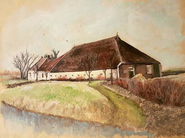 Painting - The Farm by Carole Hutchison