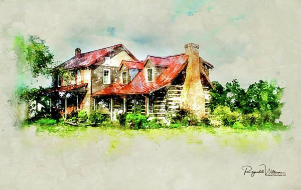 Photograph - The Farm House by Reynaldo Williams