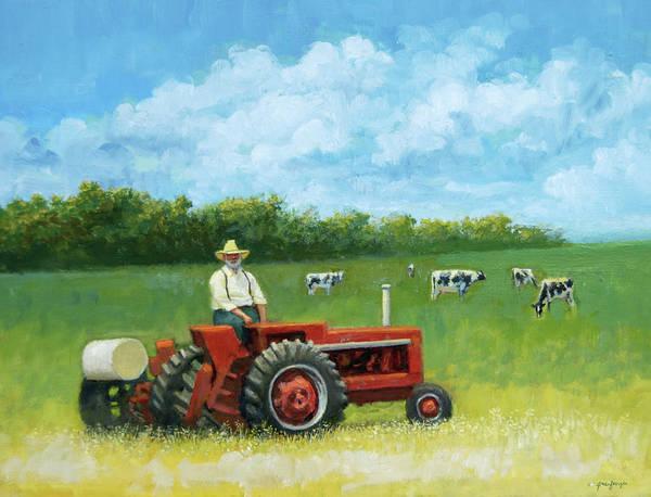 The Farmer Art Print