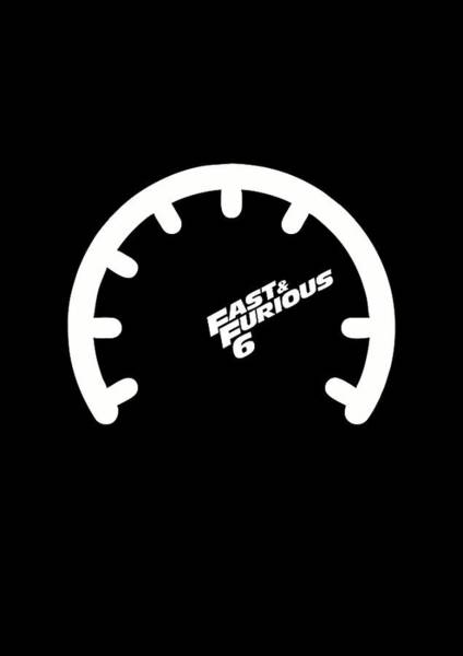 Wall Art - Digital Art - The Fast And The Furious Hollywood Movies Minimalist Quotes Poster by Lab No 4